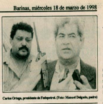 Will Rangel y Carlos Ortega
