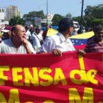 Arrecia la movilización de las trabajadoras y trabajadores petroleros de Anzoátegui