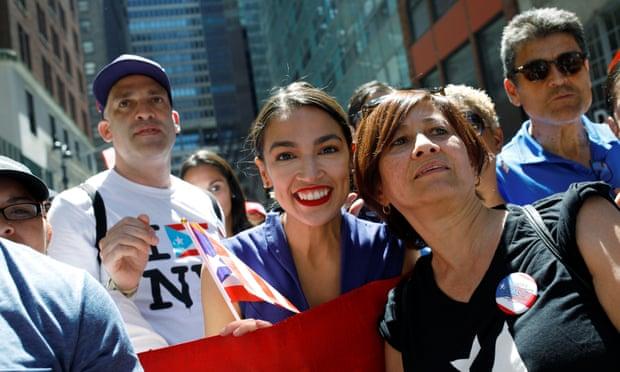 Alexandria Ocasio-Cortez, congresista socialista