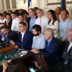 ¡Abajo el corrupto acuerdo parlamentario! ¡Fuera Piñera y su régimen asesino!
