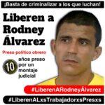 (Vídeos) Dirigentes sindicales del PSL rechazan condena a Rodney Álvarez y exigen su libertad inmediata y plena
