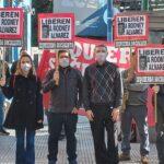 (Vídeo) Se realizó acto en embajada venezolana en Buenos Aires exigiendo libertad de Rodney Alvarez